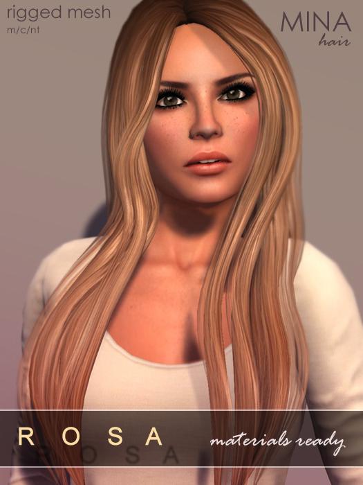 MINA Hair - Rosa2