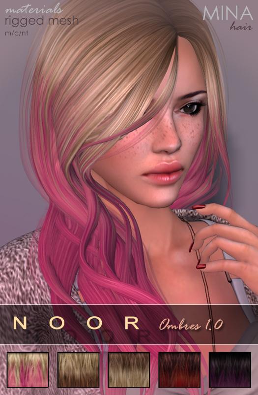 MINA Hair - Noor Ombres 1.0