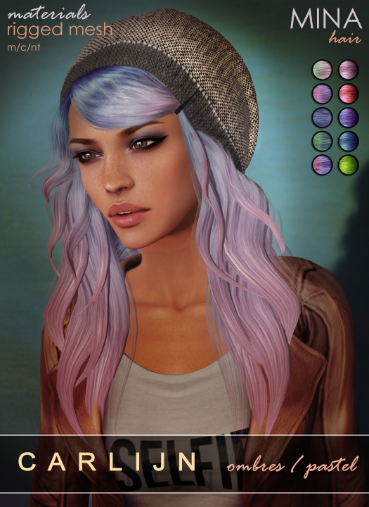 MINA Hair - Carlijn Pastels