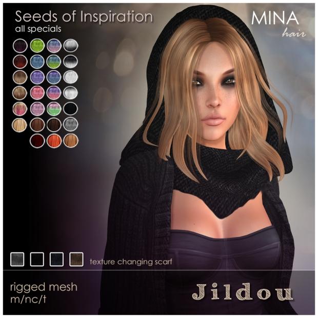 MINA Hair - Jildou seeds