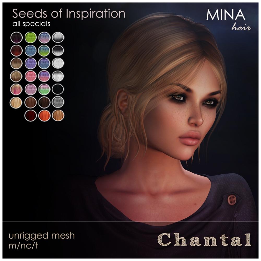 MINA Hair - Chantal Gacha garden Seeds