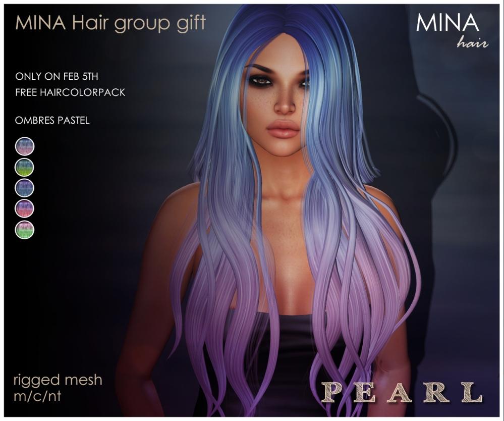 MINA Hair - Pearl gift