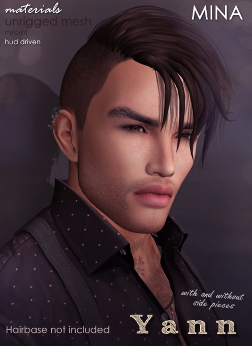MINA Hair - Yann without side pieces