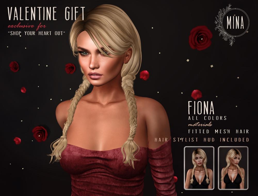 MINA Hair - Fiona Valentines Gift