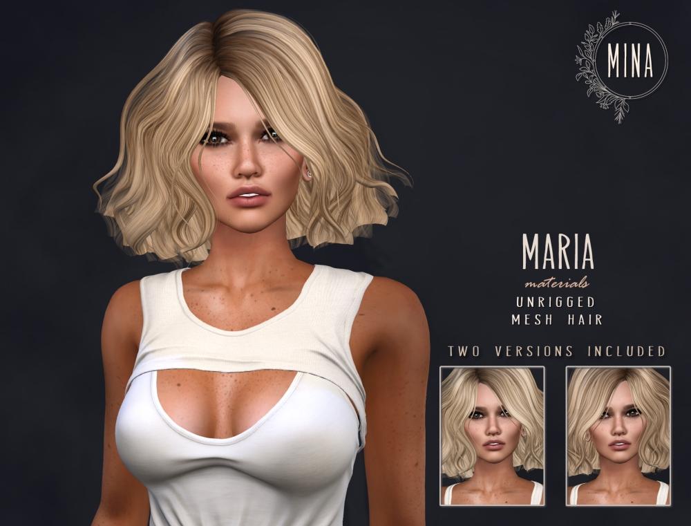 MINA Hair - Maria Ad