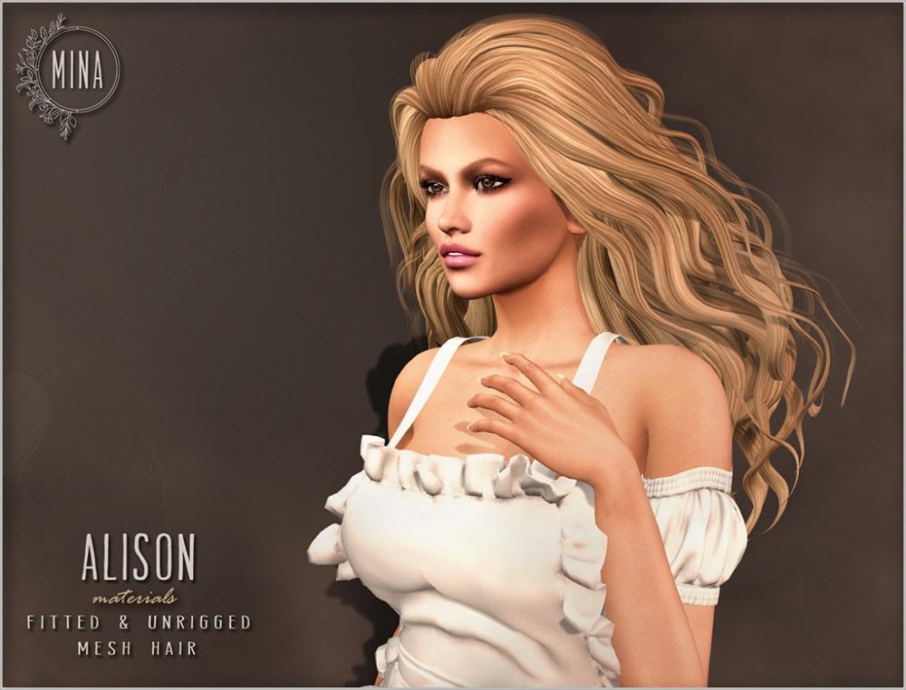 MINA Hair - Alison ad 1024