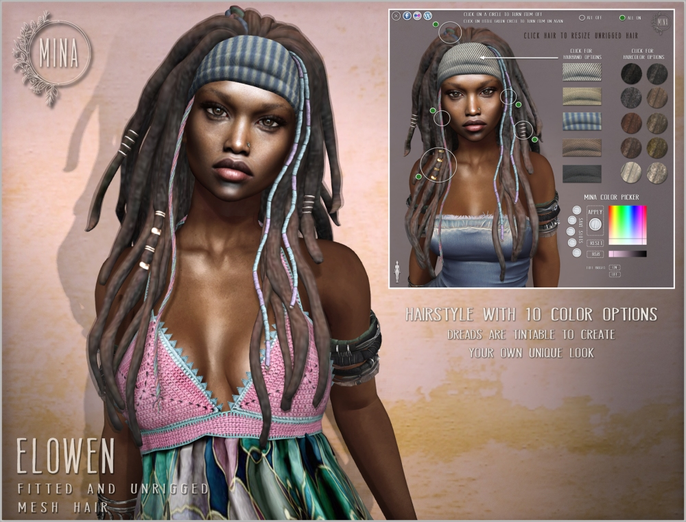 MINA Hair - Elowen